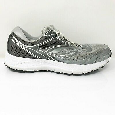 $ CDN55.31 • Buy Saucony Womens Cohesion 12 S10474-2 Gray Running Shoes Lace Up Low Top Sz 9.5 W