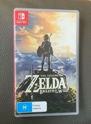 AU50 • Buy The Legend Of Zelda: Breath Of The Wild (Nintendo Switch, Pre-Owned