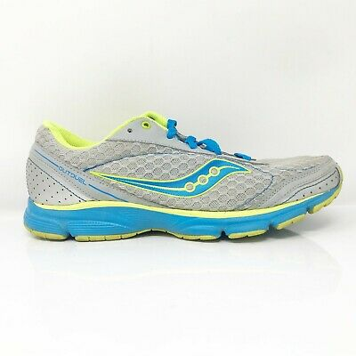 $ CDN58.03 • Buy Saucony Womens Outduel 15146-10 Grey Blue Running Shoes Lace Up Low Top Size 8.5