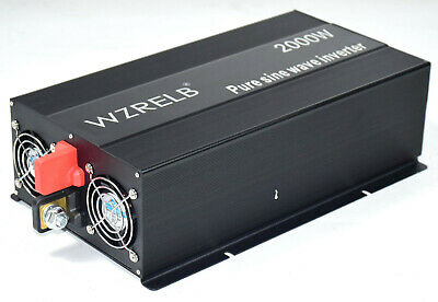 $ CDN284.16 • Buy 2000W Pure Sine Wave Inverter DC To AC Power Off Grid System 12/24V To 110/220V