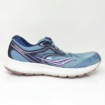 $ CDN52.59 • Buy Saucony Womens Cohesion 12 S10473-3 Aqua Blue Running Shoes Lace Up Size 11