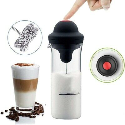 £11.59 • Buy Electric Whisk Frother For Coffee Latte Hot Chocolate Milk Frothy Blend Whisker.