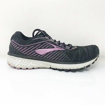$ CDN58.03 • Buy Brooks Womens Ghost 12 1203051B081 Purple Black Running Shoes Lace Up Size 8 B