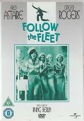 £4.50 • Buy Follow The Fleet - Region 2 & 4 DVD, Fred Astaire, Ginger Rogers, Musical