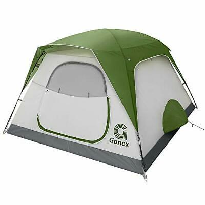 AU243.19 • Buy Gonex Camping Tent, 6 Person Pop Up Instant Tent For Family, Waterproof Easy Set