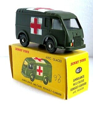 £63.99 • Buy French Dinky 80f Renault Military Ambulance. Near Perfect Model. Good Clean Box