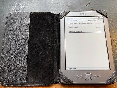 £5.50 • Buy Amazon D01100 Kindle 4th Generation 2GB Wi-Fi 6 Inch EBook Reader - Graphite