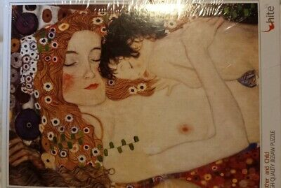 $ CDN15.71 • Buy 150 Pieces Premium Jigsaw Puzzle - Mother And Child By Gustav Klimt 8 ×11