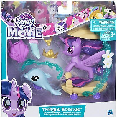 My Little Pony The Movie Twilight Sparkle Undersea Carriage  • 11.95£
