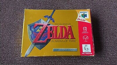 AU7.50 • Buy The Legend Of Zelda: Ocarina Of Time N64 *box Only* Nintendo 64 OoT PAL AUS
