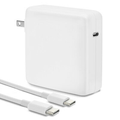 $19.90 • Buy 96w USB-C Power Adapter Charger (PD 3.0) For Mac Pro 13, 15, 16 Inch (2016-2020)