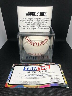$ CDN1.20 • Buy Andre Ethier Autographed Official MLB Baseball Authenticated - Auto Fading