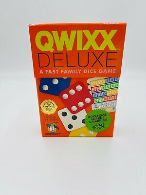 $ CDN45.35 • Buy Gamewright Qwixx Deluxe Fast Family Dice Game -  New And Sealed