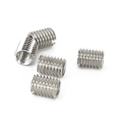 $6.59 • Buy 5x Stainless Steel Thread Adapter M12 12MM Male To M8 8MM Female Thread Reducers