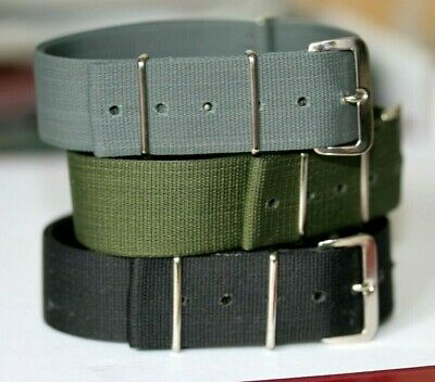 Orginal Mod Specification Nylon G10 Watch Strap Made In Wales Fixed Buckle • 24.95£