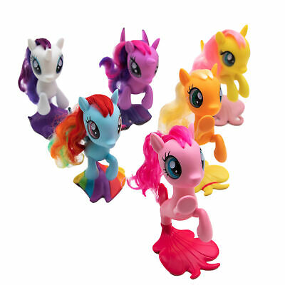 £21.10 • Buy Hasbro My Little Pony Seapony Figurine Collection Pack Mermaid Tail Toys Movie