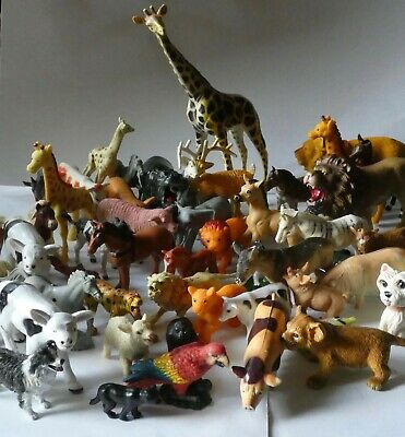 £2.97 • Buy Job Lot Collection Of Vintage Farm And Zoo Toy Animal Figures