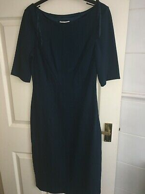 £0.99 • Buy Monsoon Womens Uk Size 10 Green Short Sleeve Calf Length Dress (new With Tags)