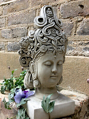 Beautifully Detailed Thai Buddhas Head Statue For The Home Or Garden. From Sius • 24£