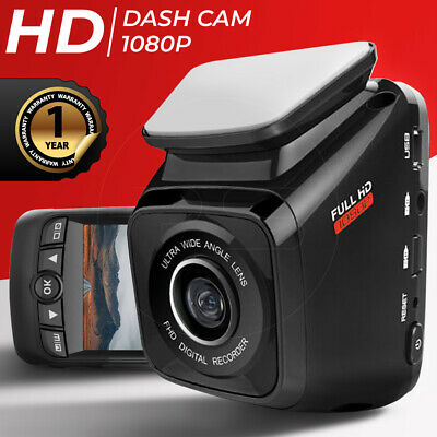 AU92.80 • Buy FHD 1080P Car Dash Cam - Compact Night Vision WIFI DVR Camera Video Recorder