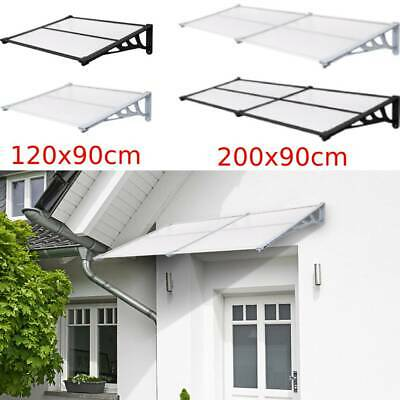 £54.99 • Buy Front Back Patio Roof Door Canopy Awning Rain Shelter Porch Outdoor Shade 4-Size