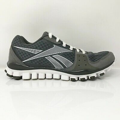 £40.99 • Buy Reebok Mens Realflex Transition J93755 Black Gray Running Shoes Lace Up Size 9