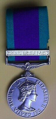 £15 • Buy +++ Campaign Service Medal 'norther Ireland' Clasp Unnamed Tailors Copy +++