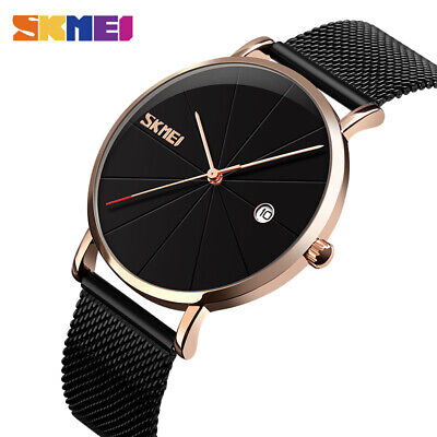 $ CDN16.58 • Buy SKMEI Men Quartz Wristwatch Women 30m Waterproof Big Dial Calendar Watch 9183 3
