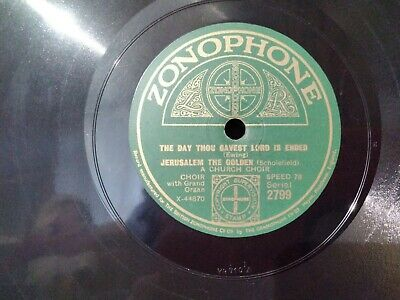 £5 • Buy A Church Choir The Day Thou Gavest Lord Is Ended/jesu, Lover Of My Soul 10 ...