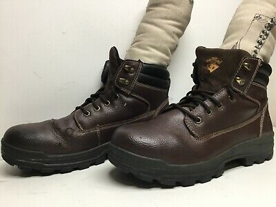 $ CDN26.68 • Buy Vtg Mens Herman Survivors Steel Toe Work Brown Boots Size 12