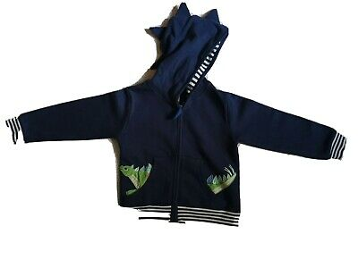 £10 • Buy Lilly And Sid Kids Boys Dinosaur Hoodie Size 4-5  The Natural History Museum
