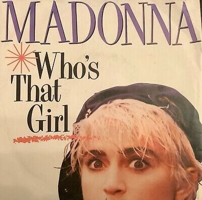£0.99 • Buy 80s Pop - MADONNA - Who's That Girl - 1987 UK SIRE - Picture Sleeve EX-