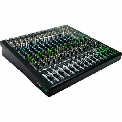 $449 • Buy Mackie ProFX16v3 16-Channel Professional Live Recording Mixer With Pro Tools