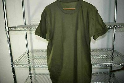 $ CDN14.56 • Buy Vtg Deadstock Military Blank Olive Green Supreme Manufacturing T Shirt Large