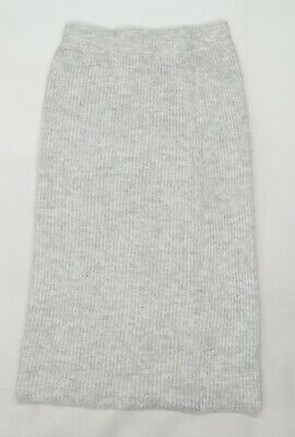 £5 • Buy Primark Womens Grey   Straight & Pencil Skirt Size 10  - Knitted