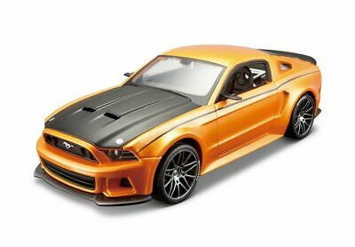 £19.99 • Buy Ford Mustang Street Racer [Kit] In Orange And Black (1:24 Scale By Maisto 39127)