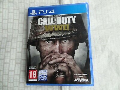 £4.99 • Buy Call Of Duty WWII World War 2 For Sony PlayStation 4 - Video Game 2017