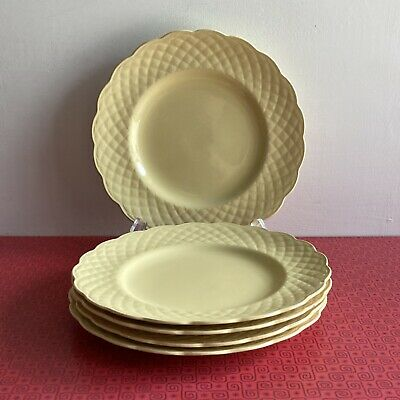 £14.99 • Buy 5 X J&G Meakin Sol Sunflower Side Plates 7¾  Pastel Yellow Circa 40s/50s