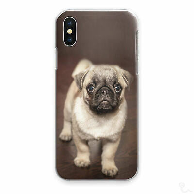 AU15.85 • Buy Pug Phone Case Cute Funny Puppy Dog Hard Cover For Apple Samsung Huawei Sony