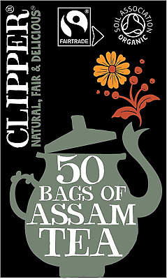£19.22 • Buy Clipper Fairtrade Organic Speciality Assam 50 Tea Bags Pack Of 6