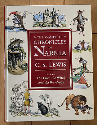 £15 • Buy The Complete Chronicles Of Narnia C.S. Lewis (hardback) + Narnia DVD Set (new)