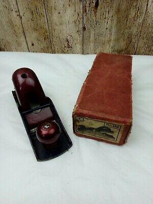 £16 • Buy VINTAGE No 110 BLOCK HAND PLANE IN ORIGINAL BOX (STANLEY SHAPE FOREIGN MADE)
