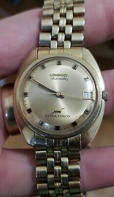 $ CDN269.21 • Buy Vintage Longines 10K GF Ultra-Chron Automatic Men's Watch And Band