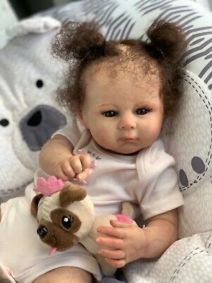 $ CDN163.34 • Buy Ooak Reborn Newborn Baby Girl  Reborn Baby  Oakley  Art Doll