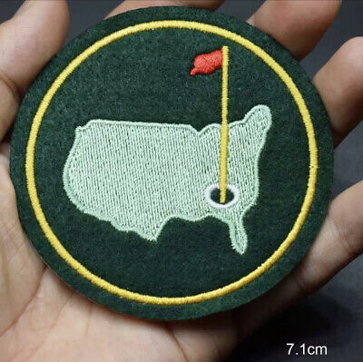 £4.99 • Buy AUGUSTA US NATIONAL MASTERS PGA GOLF GREEN JACKET FELT PATCH 3 Inches 7,6cm