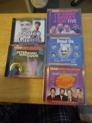 £12 • Buy 5 BBC AUDIO CD'S, RADIO COLLECTION, COMEDIES & 5 BBC COMEDY DVD's