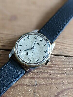 $ CDN20.37 • Buy Gents Vintage Aviation Military Style Watch - Working Parts Or Repair