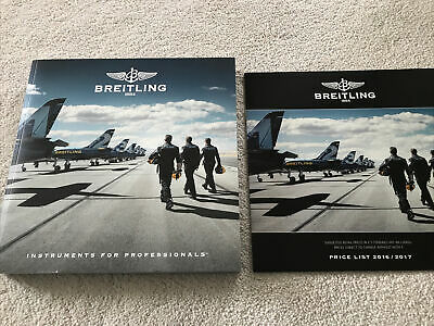 £15 • Buy Breitling 1884 Chronolog 2017 Instruments For Professionals Catalogue Price List