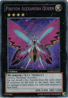 £0.99 • Buy Yu-Gi-Oh Yugioh Photon Alexandra Queen NUMH-EN047 Secret Rare 1st Near-Mint!