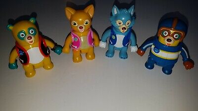 £10 • Buy Special Agent Oso, Dottie Dotty, Wolfie Blue Wolf & Oso The Bear, Learning Curve
